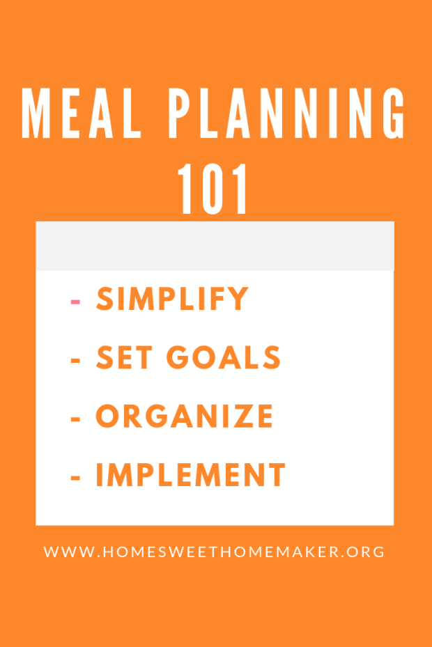 Meal Planning 101 - Everything You Need To Know About Meal Planning - How To Grocery List - Balanced Meals - Family