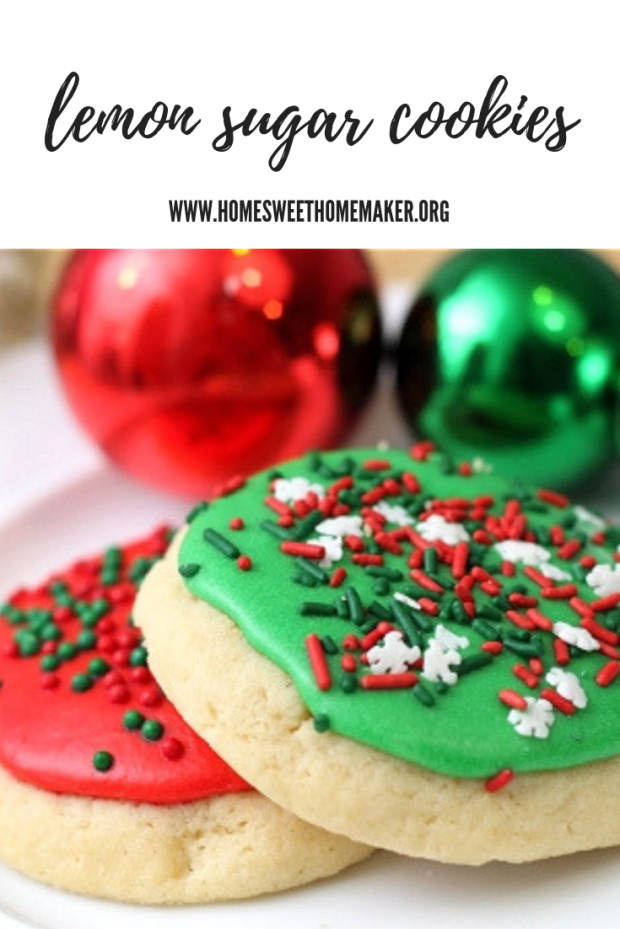 fluffy soft lofthouse copycat lemon sugar cookies christmas decorated frosted cookies holiday cookie recipes recipe grandma homemade best