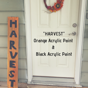 _HARVEST_Orange Acrylic Paint & Black Acrylic Paint (1)