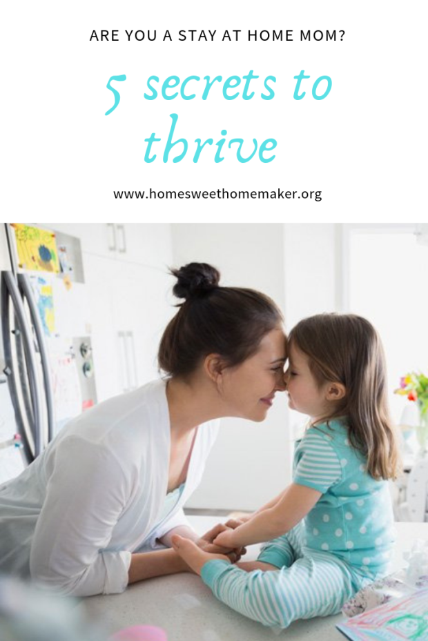 5 tips to thrive as a stay at home mom hacks ideas advice sahm life motherhood parenting