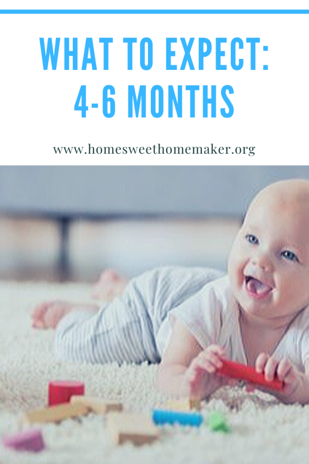 what to expect 4-6 months old baby schedule milestones 3 4 5 6 infant how to care for activities feedings sleeping