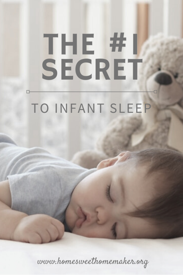 the #1 secret to getting your infant to sleep all night sleep training how to tips hacks baby