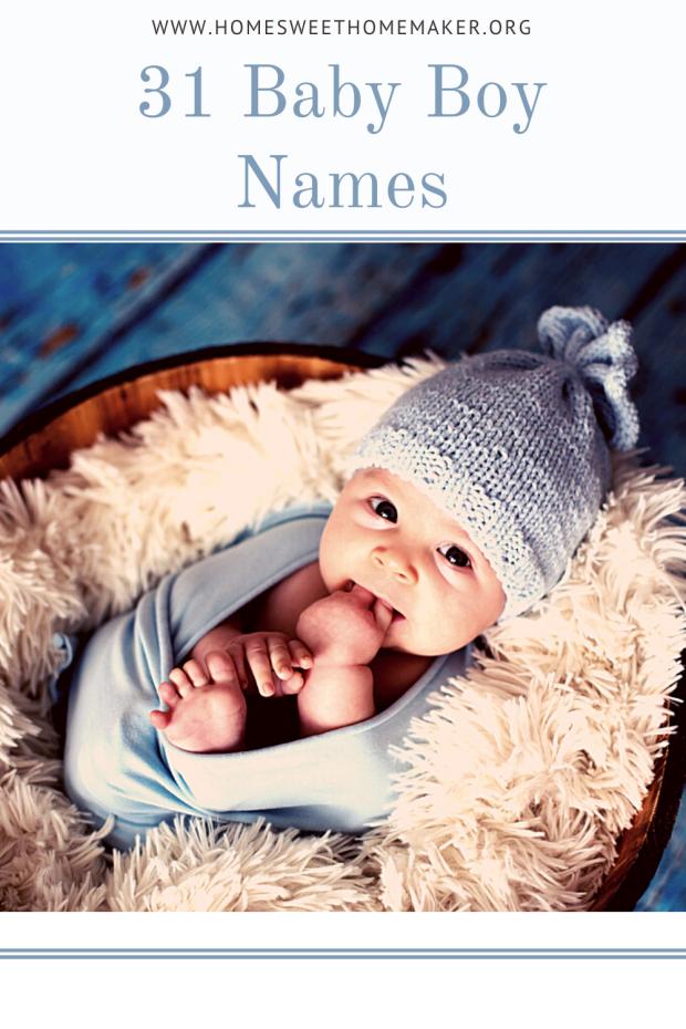 31 Baby Boy Names
